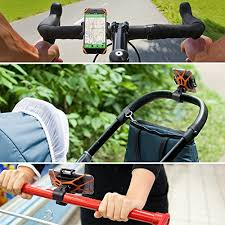 Rubber Mount iphone Android <b>Bike Phone Holder Bicycle</b> Mount ...