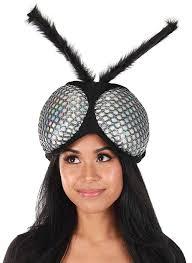 Designing Women The Fur Flies Amazon Com Elope Holographic Fly Eyes Plush Headband Clothing