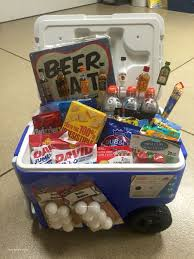 traditional gifts for fiance male and ice chest gift basket 21st birthday for a guy
