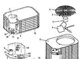coleman evcon air conditioner parts sante blog coleman evcon ind central air conditioners parts