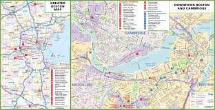 boston colleges and universities map