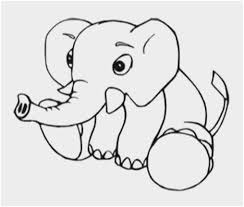 Elephant Coloring Pages Fabulous Cute Baby Elephant Coloring Pages