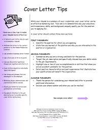 First Rate Example Of A Cover Letter For Resume 5 Letter Example