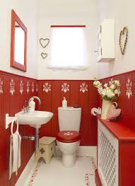 77 best Red Bathrooms images on Pinterest | Bath design, Bath room decor  and Bathroom cupboards