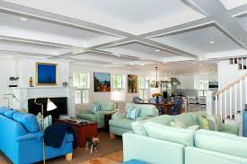 Beach Style Living Room By Mary Prince Photography