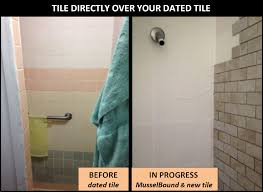 ... Fancy Tile Over Tile Bathroom 37 About Remodel home design ideas cheap  with Tile Over Tile ...