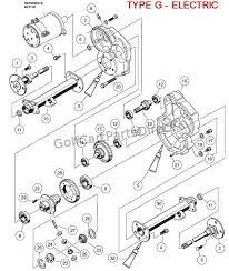transaxle type g electric club car parts & accessories Club Car Transmission Diagram transaxle type g electric club car ds transmission diagram