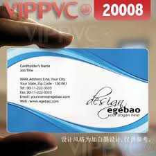 20008 Business Card Samples Matte Faces Transparent Card Thin 036mm