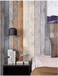 HaokHome 206 Distressed Wood Plank ...