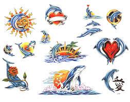 Motiv Tetování Moře Vodní 967