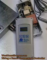 how to wire a ranco digital temperature controller homebrewing ranco digital thermostat