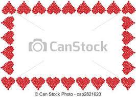 valentine heart frame. Simple Heart Valentine Heart Frame Or Border  Csp2821620 With Heart Frame N