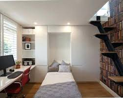 office room ideas for home. Modern Home Office Room Ideas Small Minimalist Built In Desk Medium Tone Wood Floor Photo With Interior Design Styles Book For L