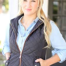 Quilted Riding Vest - Black from Hazel and Olive & Quilted Riding Vest - Black Adamdwight.com