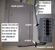 install house and building backup generator toronto electrician in case of outage the permanently mounted unit starts automatically at the moment of blackout delivering current directly to the main breaker panel