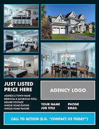 realtor flyers templates real estate flyers for your agency marketing