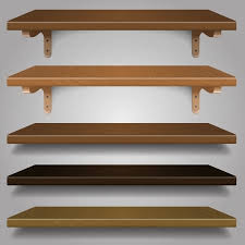 types of shelves. Fine Shelves Wood Shelves Different Types And Colors Royalty Free Cliparts Vectors  Stock Illustration Image 23646920 Throughout Of Shelves S