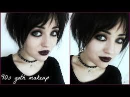 90s goth makeup tutorial you
