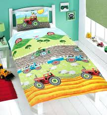 tractor bedding set tractor duvet cover set red tractor baby bedding sets