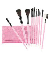 makeup brush collection 10 pcs eye shadow brush 10 gm foolzy fantasy makeup brush collection 10 pcs eye shadow brush 10 gm at best s in india
