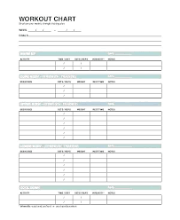 Weight Lifting Templates Personal Training Plan Template Weightlifting Weight