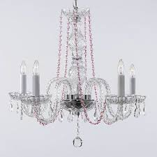 a46 b1 384 5 murano venetian style all crystal chandelier with color crystal