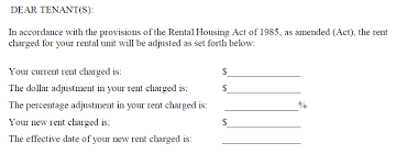 how to write a rent increase notice a letter to the editor dcs office of the tenant advocate responds
