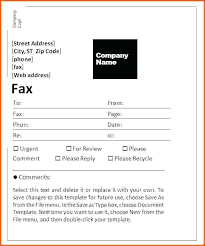 Fax Cover Sheet Template Word 2013 6 Survey Administrativelawjudge