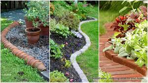 Landscape Edging Design Ideas 17 Simple And Cheap Garden Edging Ideas For Your Garden