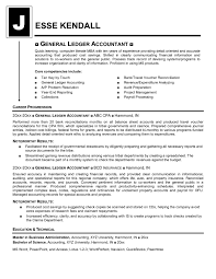 Outstanding General Ledger Accountant Resume Sample 54 For Your Resume  Templates Free With General Ledger Accountant
