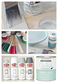 difference between chalk type paints milk paints and specialty paints
