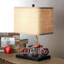 motorcycle lamp shade vintage motorcycle table lamp one of a kind vintage inspired motorcycle table lamp reminiscent furnitures s in dallas