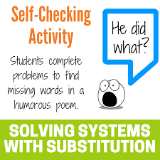 system of equations using substitution