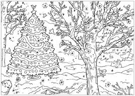 Small Picture Free Christmas Coloring Pages For Adults at Coloring Book Online