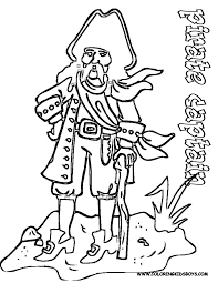 Printable Coloring Pages pirate coloring pages free : Pirate Pictures To Color
