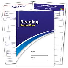 Pts Home School Reading Record Logs Homework Diaries From 48p