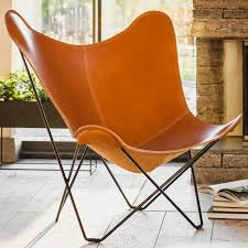 Leather Butterfly Chair Pampa Mariposa