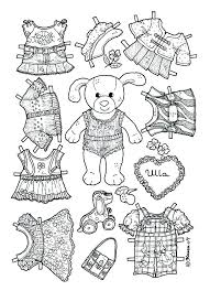 Chucky Coloring Pages Coloring Pages Of Paper Dolls Doll Coloring