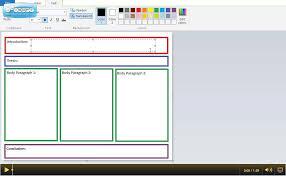 graphic organizer for a paragraph essay graphic organizer for a 5 paragraph essay