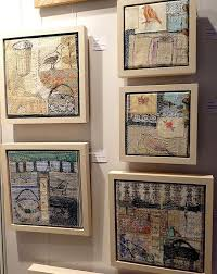 70 best Quilt Art - Framing, Hanging images on Pinterest ... & Displaying and hanging textile art Adamdwight.com