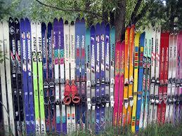 Repurposing Hopeless Repurposing Of Old Skis Part I After Years Of Ca Flickr
