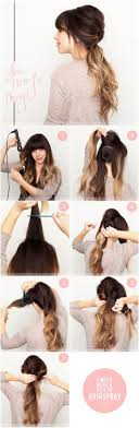 Hairstyles For School Step By Step 15 Cute And Easy Ponytail Hairstyles Tutorials Popular Haircuts