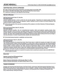 Real Estate Agent Resume Resume Example For Real Estate Broker