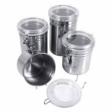 Black Kitchen Storage Jars Coffee Storage Canisters Promotion Shop For Promotional Coffee