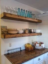 5 iirntree 16 inches deep wood floating shelves