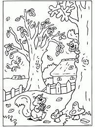 Herfst Kleurplaten Voor Volwassenen Herfst Norskiinfo