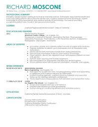 Sample Of Dental Assistant Resume Dental Assistant Resume Examples