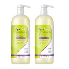 Devacurl Light Defining Gel Vs Styling Cream Devacurl Light Defining Gel Soft Hold Styling Hair Gel Non Sticky Sulfate Paraben And Silicone Free 32 Ounce 2 Pack
