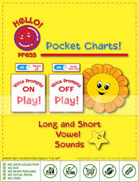 Pocket Charts Long And Short Vowel Sounds On The App Store