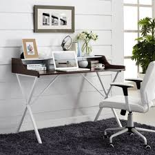 Furniture: Minimalist White Desk - Desks